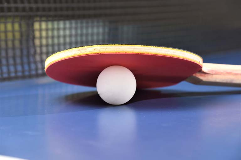 table tennis racket high spin